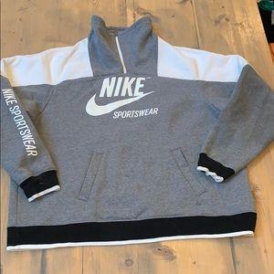 Nike quarter zip sweatshirt